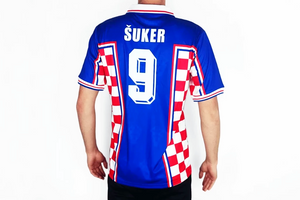 croatia 1998 shirt