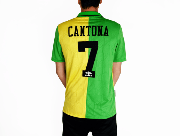 Eric Cantona - 1992/94 MUFC Retro Away Shirt - the-retrosoccerlocker