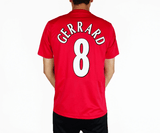 Gerrard - 2005/05 UCL Final Home Football Shirt - the-retrosoccerlocker