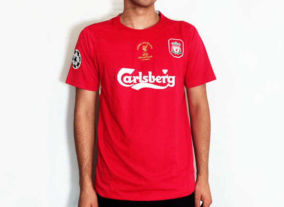 Liverpool replica retro shirt