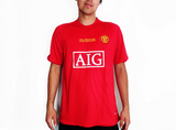 Manchester United 2007/08 Shirt Retro Football Kit