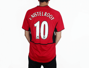 more photos ac8da 923fb Ruud Van Nistelrooy - 2003/04 MUFC Football Shirt