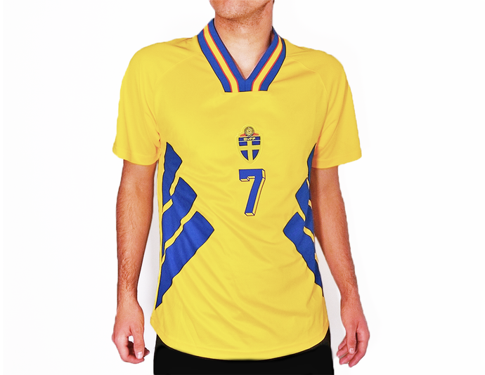 Sweden - 1994 World Cup Football Shirt