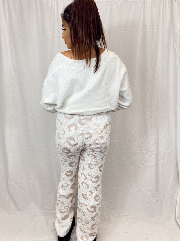 Cloudy Dreams Knitted Pants