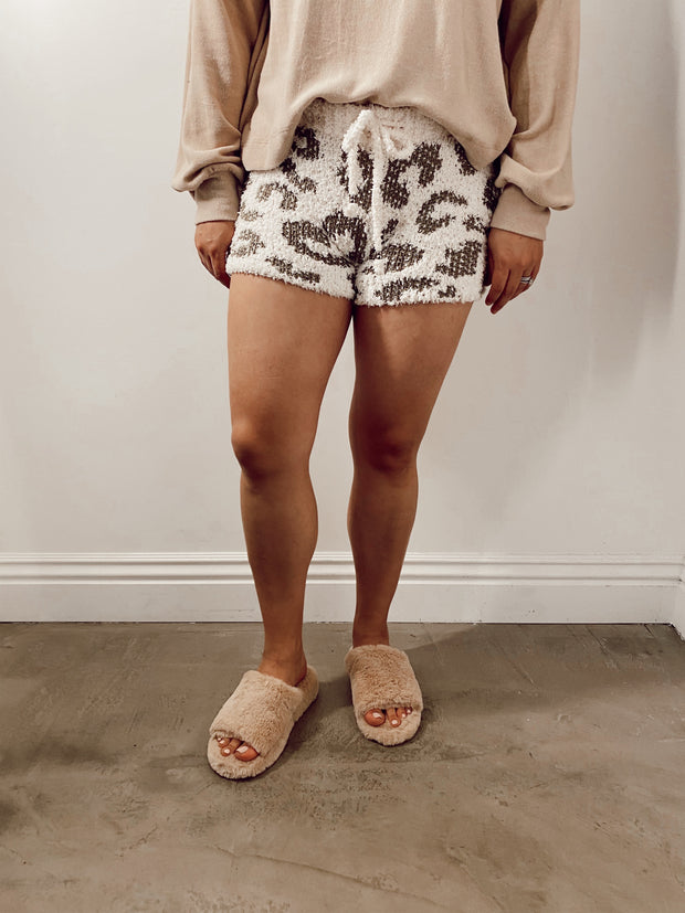 Cloudy Dreams Knitted Shorts
