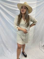 Noelle Straw Rancher Hat- Ivory