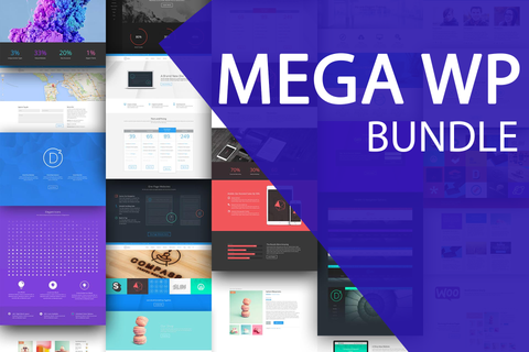 Mega Wordpress Bundle (100+ premium items)