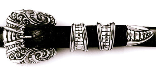 Sterling Gothic 4 pc. Buckle Set