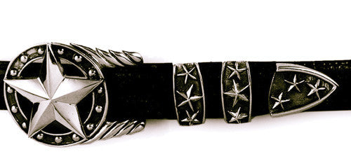 Sterling Star 4 pc. buckle set