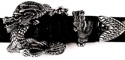 Sterling Dragon 3 pc. buckle set
