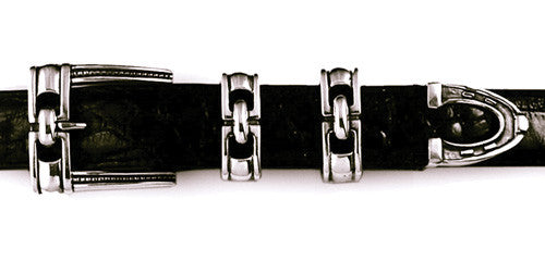 Sterling Equestrian Hardware 4 pc. buckle set
