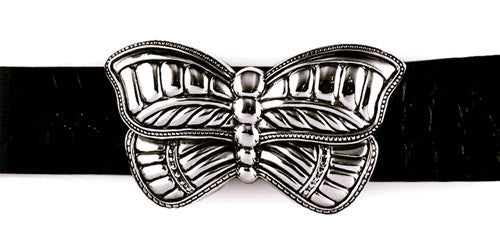 Sterling Butterfly trophy buckle