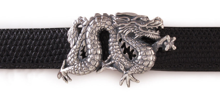 Sterling Dragon buckle