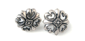 Sterling Cross 21 cuff links