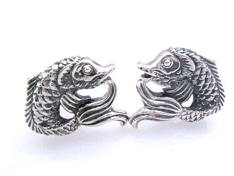 Sterling Koi Fish Cufflinks