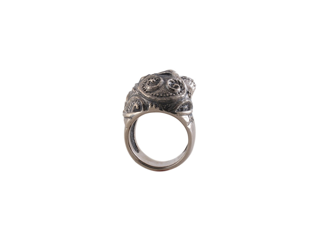 Sugar Skull Ring Side View