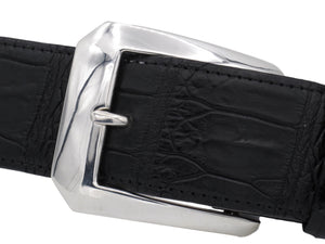 "Angled front view of the #1378 Clipped Corner Dress buckle for 1.5"" strap."