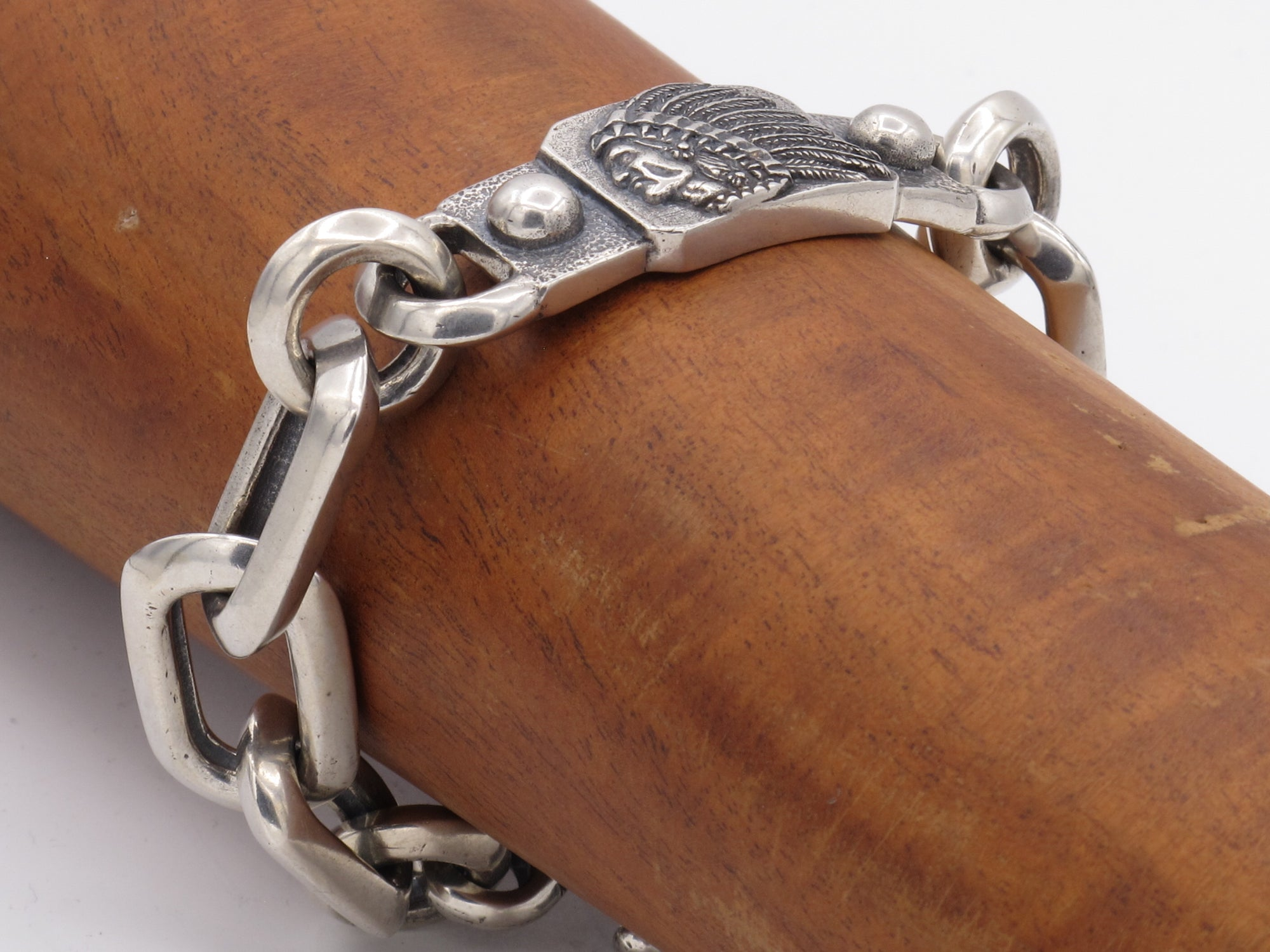 #DB-17 Big Chief ID Link Bracelet