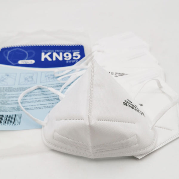 KN95 Face Masks - Pack of 10 individual masks