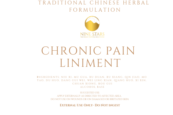 Chronic Pain Liniment