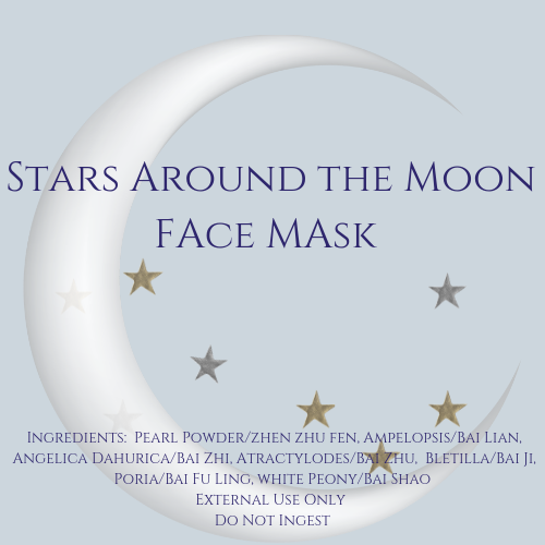 Stars Around the Moon Chinese Herbal Face Therapy Mask