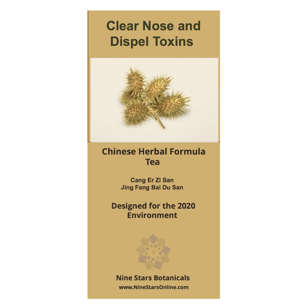Clear Nose and Dispel Toxins Chinese Herb Tea