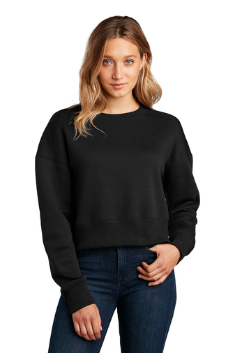 Women's Perfect Weight Fleece Cropped Crew