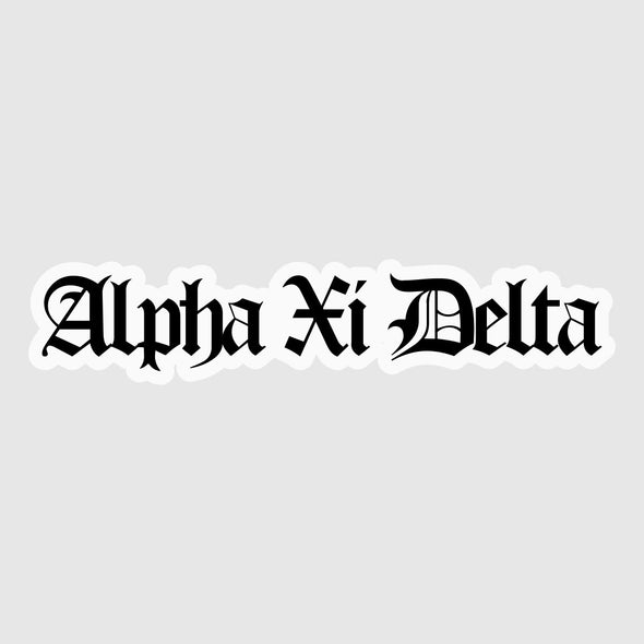 University of Delaware AXiD Sticker