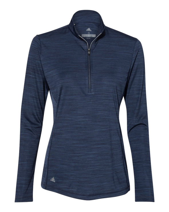 Women's Lightweight Melange Quarter-Zip Pullover