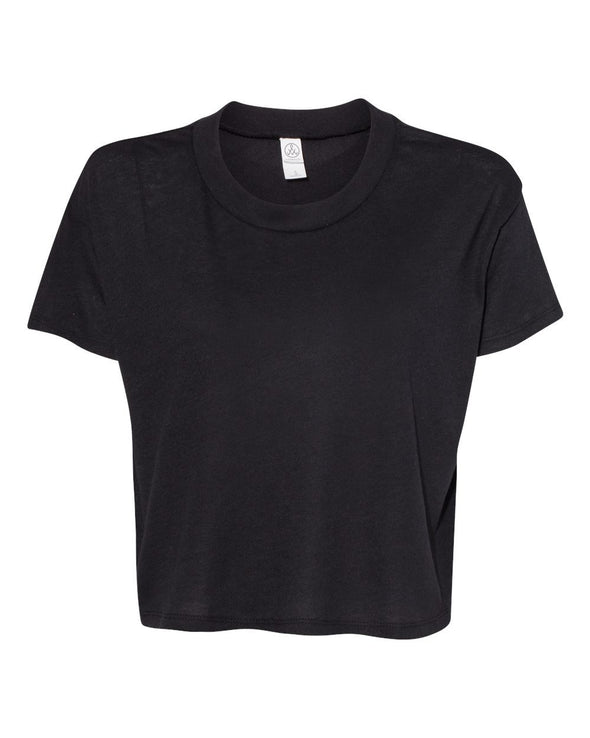 Women's Vintage Jersey Cropped Tee