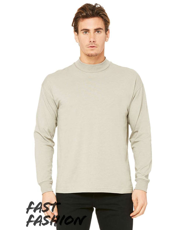 Fast Fashion Unisex Mock Long Sleeve Tee
