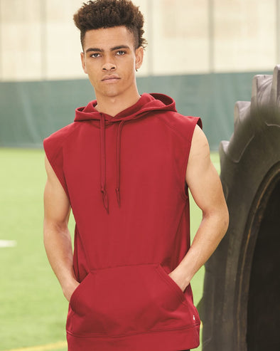Performance Fleece Sleeveless Hooded Sweatshirt