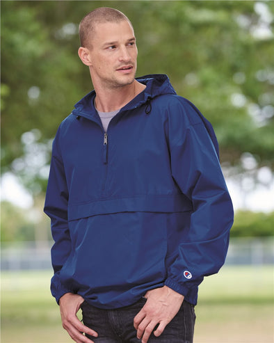 Packable Quarter-Zip Jacket