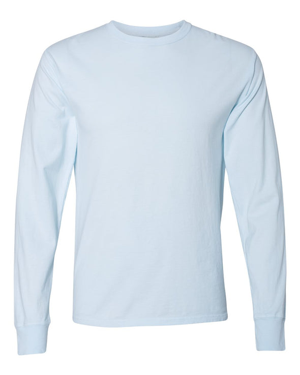 Garment Dyed Long Sleeve T-Shirt