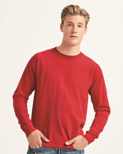 Heavyweight Garment-Dyed Long Sleeve T-Shirt