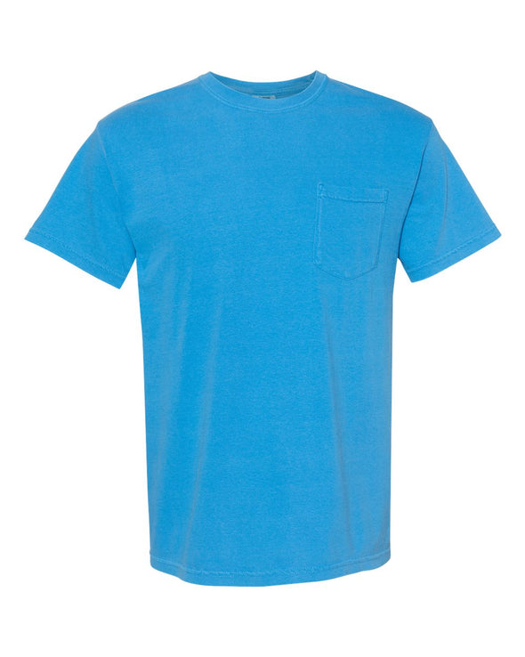 Heavyweight Garment-Dyed Short Sleeve Pocket T-Shirt