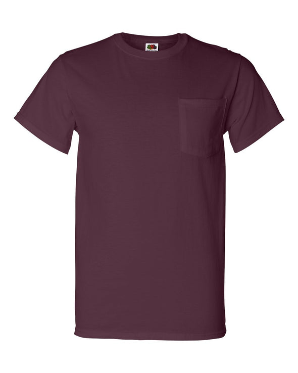 HD Cotton T-Shirt with a Pocket