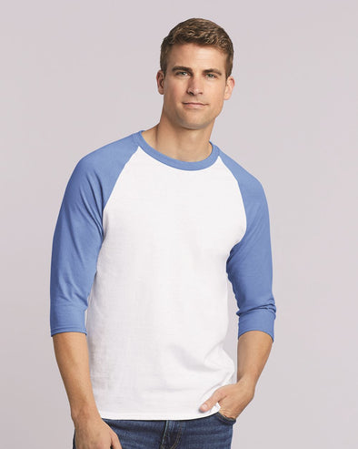 Heavy Cotton Raglan Three-Quarter Sleeve T-Shirt