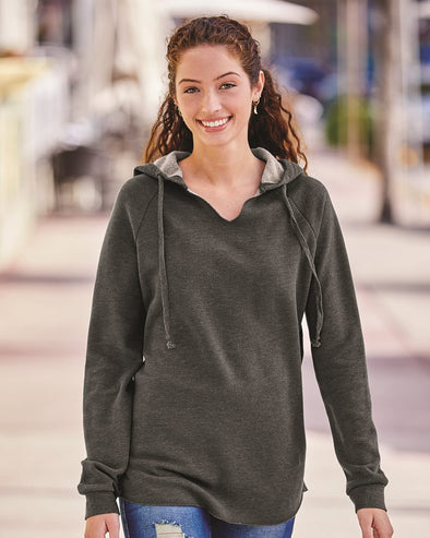 Women's Lightweight California Wave Wash Hooded Sweatshirt
