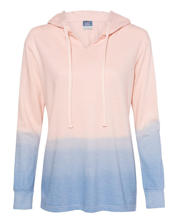 Women's French Terry Ombre` Hooded Sweatshirt