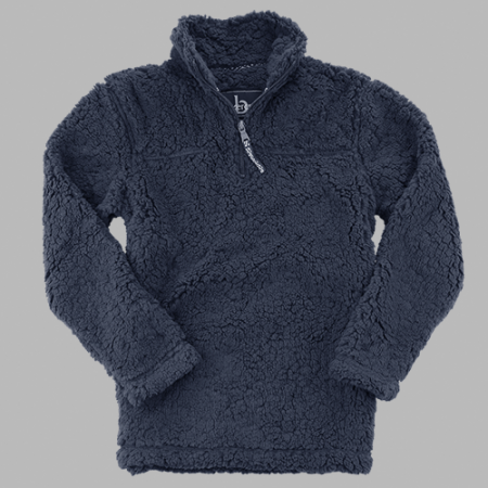 Adult Sherpa Quarter Zip Pullover