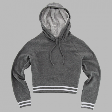 Ladies Stadium Cropped Hoodie