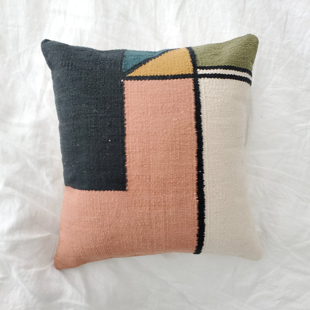 Bleeker Throw Pillow
