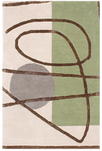 Orbit Moon Modern Wool Rug