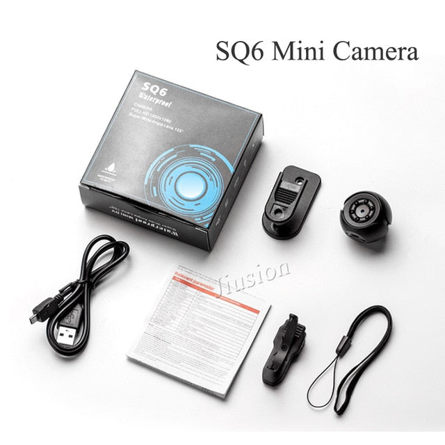 Mini Surveillance Camera Full HD 1080P