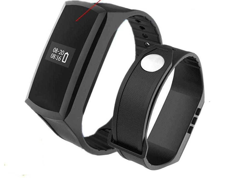 X18S Smart Band with HD 1080P Mini Camera Camcorder Pedometer Smart Wristband Secret Camera Voice Video Recording Bracelet Watch