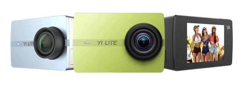 YI Lite Action Camera Real 4K Sports Camera