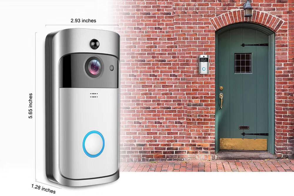 Smart Video Doorbell Hidden Security Camera Security
