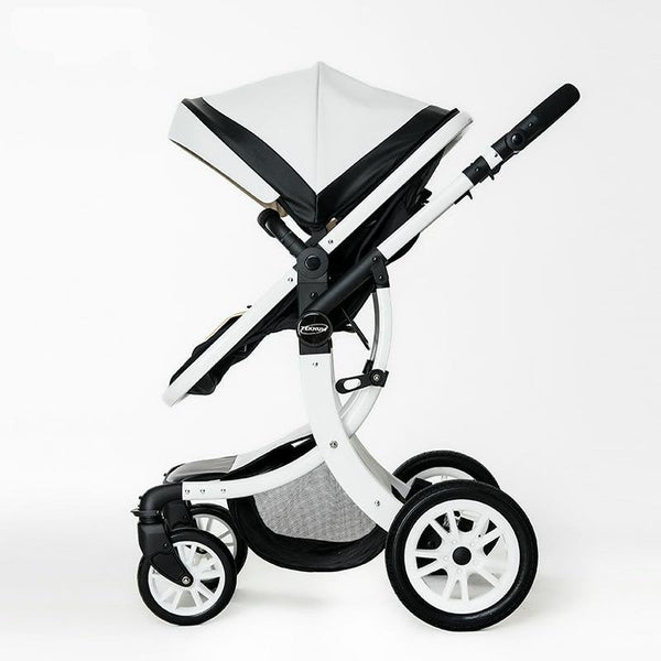 Baby Stroller Lightweight Baby Carriages For Newborns Sit Lying 2 in 1 Folding Prams For Children Portable Trolley For Travel