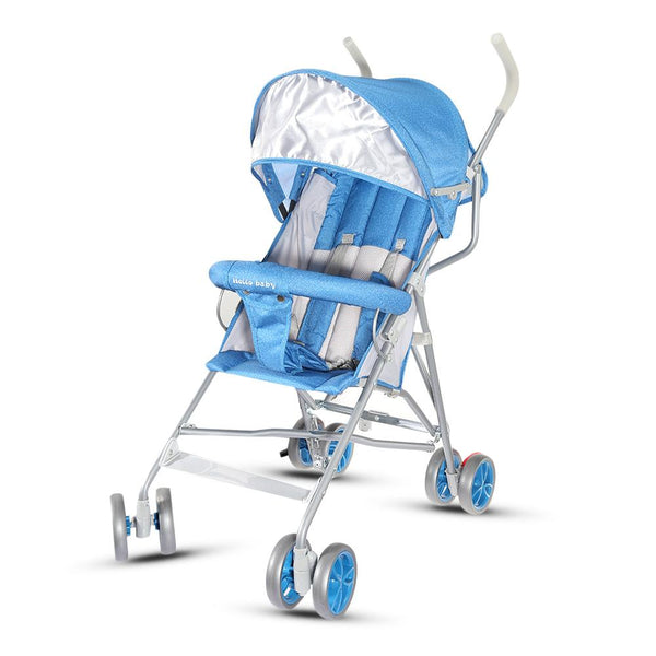 Baby Stroller Folding Ultra-Lightweight Shockproof Can Sit Can Lie High Baby Stroller Cart Carriage For 0 - 36 Months Babies